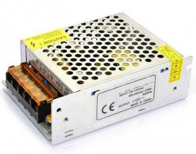 60W Τροφοδοτικό LED Power Supply 24V 2.5A Metal